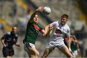 5 August 2018; Conor Diskin of Mayo in action against Tony Archbold of Kildare during the EirGrid GAA Football All-Ireland U20 Championship final match between Mayo and Kildare at Croke Park in Dublin. Photo by Daire Brennan/Sportsfile
