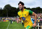 5 August 2018; Odhrán MacNiallais of Donegal makes his way onto the pitch prior to the GAA Football All-Ireland Senior Championship Quarter-Final Group 2 Phase 3 match between Tyrone and Donegal at MacCumhaill Park in Ballybofey, Co Donegal. Photo by Stephen McCarthy/Sportsfile