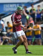 5 August 2018; David Burke of Galway celebrates after the GAA Hurling All-Ireland Senior Championship semi-final replay match between Galway and Clare at Semple Stadium in Thurles, Co Tipperary. Photo by Diarmuid Greene/Sportsfile