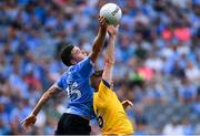 5 August 2018; Paddy Andrews of Dublin in action against Darra Pettit of Roscommon during the GAA Football All-Ireland Senior Championship Quarter-Final Group 2 Phase 3 match between Dublin and Roscommon at Croke Park in Dublin. Photo by Piaras Ó Mídheach/Sportsfile