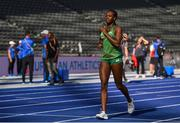 5 August 2018; Gina Akpe-Moses of Ireland during a practice session prior to official opening of the 2018 European Athletics Championships in Berlin, Germany. Photo by Sam Barnes/Sportsfile