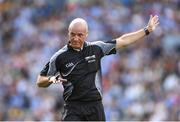 5 August 2018; Referee Cormac Reilly during the GAA Football All-Ireland Senior Championship Quarter-Final Group 2 Phase 3 match between Dublin and Roscommon at Croke Park in Dublin. Photo by Piaras Ó Mídheach/Sportsfile