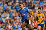 5 August 2018; Eoghan O'Gara of Dublin celebrates after scoring his side's third goal during the GAA Football All-Ireland Senior Championship Quarter-Final Group 2 Phase 3 match between Dublin and Roscommon at Croke Park in Dublin. Photo by Daire Brennan/Sportsfile