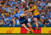 5 August 2018; Paddy Small of Dublin in action against Gary Patterson of Roscommon during the GAA Football All-Ireland Senior Championship Quarter-Final Group 2 Phase 3 match between Dublin and Roscommon at Croke Park in Dublin. Photo by Daire Brennan/Sportsfile