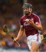 5 August 2018; Aidan Harte of Galway during the GAA Hurling All-Ireland Senior Championship semi-final replay match between Galway and Clare at Semple Stadium in Thurles, Co Tipperary. Photo by Ray McManus/Sportsfile