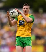 5 August 2018; Jamie Brennan of Donegal during the GAA Football All-Ireland Senior Championship Quarter-Final Group 2 Phase 3 match between Tyrone and Donegal at MacCumhaill Park in Ballybofey, Co Donegal. Photo by Stephen McCarthy/Sportsfile