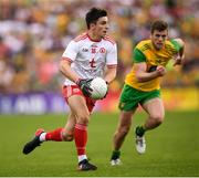 5 August 2018; Lee Brennan of Tyrone during the GAA Football All-Ireland Senior Championship Quarter-Final Group 2 Phase 3 match between Tyrone and Donegal at MacCumhaill Park in Ballybofey, Co Donegal. Photo by Stephen McCarthy/Sportsfile
