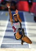 6 August 2018; Yann Randrianasolo of France competing in the Mens Long Jump Qualfication Round during Day Q of the 2018 European Athletics Championships at Berlin in Germany. Photo by Sam Barnes/Sportsfile