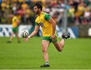 5 August 2018; Odhran MacNiallais of Donegal during the GAA Football All-Ireland Senior Championship Quarter-Final Group 2 Phase 3 match between Tyrone and Donegal at MacCumhaill Park in Ballybofey, Co Donegal. Photo by Oliver McVeigh/Sportsfile