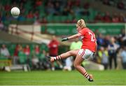 6 August 2018; Saoirse Noonan of Cork during the TG4 All-Ireland Ladies Football Senior Championship quarter-final match between Cork and Westmeath at the Gaelic Grounds in Limerick. Photo by Diarmuid Greene/Sportsfile