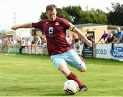 6 August 2018; Shane O'Connor of Cobh Ramblers during the EA Sports Cup semi-final match between Cobh Ramblers and Dundalk at St. Colman's Park in Cobh, Co. Cork. Photo by Ben McShane/Sportsfile