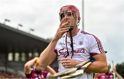 5 August 2018; James Skehill of Galway prior to the GAA Hurling All-Ireland Senior Championship semi-final replay match between Galway and Clare at Semple Stadium in Thurles, Co Tipperary. Photo by Brendan Moran/Sportsfile