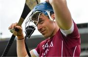 5 August 2018; Conor Cooney of Galway prior to the GAA Hurling All-Ireland Senior Championship semi-final replay match between Galway and Clare at Semple Stadium in Thurles, Co Tipperary. Photo by Brendan Moran/Sportsfile