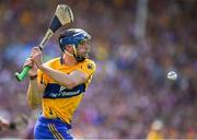 5 August 2018; David McInerney of Clare during the GAA Hurling All-Ireland Senior Championship semi-final replay match between Galway and Clare at Semple Stadium in Thurles, Co Tipperary. Photo by Brendan Moran/Sportsfile