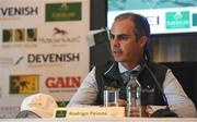 7 August 2018; Irish Show Jumping Team manager Rodrigo Pessoa in attendance during the WEG Press Launch at the RDS Arena in Dublin. Photo by Harry Murphy/Sportsfile
