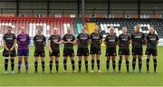 7 August 2018; The Wexford Youths team before the UEFA Women's Champions League Qualifier match between Ajax and Wexford Youths at Seaview in Belfast, Antrim. Photo by Oliver McVeigh/Sportsfile