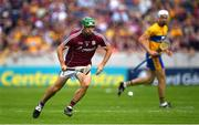 5 August 2018; David Burke of Galway during the GAA Hurling All-Ireland Senior Championship Semi-Final Replay match between Galway and Clare at Semple Stadium in Thurles, Co Tipperary. Photo by Ramsey Cardy/Sportsfile
