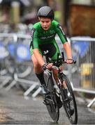 7 August 2018; Eileen Burns of Ireland competing in the Women's Time Trial during day seven of the 2018 European Championships in Glasgow City Centre, Scotland. Photo by David Fitzgerald/Sportsfile