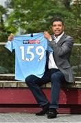 """8 August 2018; Chris """"Kammy"""" Kamara was in Dublin to kick off Sky Sports' Premier League Season. Sky will show 159 Premier League matches, including Saturday 3pm kick-offs exclusive to Irish viewers. The first round of the 31 fixtures kicks off this Friday night on Sky Sports Premier League and NOW TV. Sky Ireland, Burlington Plaza, Dublin. Photo by Matt Browne/Sportsfile"""