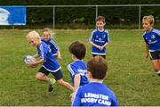 8 August 2018; Participants during the Bank of Ireland Leinster Rugby Summer Camp at Westmanstown RFC in Clonsilla, Dublin. Photo by Piaras Ó Mídheach/Sportsfile