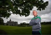 8 August 2018; Limerick manager John Kiely poses for a portrait during a Limerick Hurling Press Conference at the Adare Manor Hotel and Golf Resort in Limerick ahead of the GAA Hurling All-Ireland Senior Championship Final. Photo by Diarmuid Greene/Sportsfile