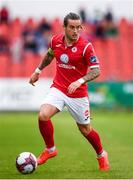 6 August 2018; Rhys McCabe of Sligo Rovers during the EA Sports Cup semi-final match between Sligo Rovers and Derry City at the Showgrounds in Sligo. Photo by Stephen McCarthy/Sportsfile