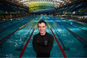 9 August 2018; Team Ireland swimmer James Scully at the National Aquatic Centre in Dublin where he will be the first member of Team Ireland in the pool for the World Para Swimming Allianz European Championships being held from 13-19 August 2018. Photo by Stephen McCarthy/Sportsfile