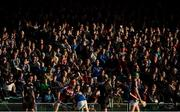 8 August 2018; Spectators look on during the Bord Gais Energy GAA Hurling All-Ireland U21 Championship Semi-Final match between Galway and Tipperary at the Gaelic Grounds in Limerick. Photo by Diarmuid Greene/Sportsfile