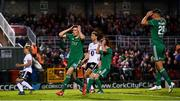 9 August 2018; Garry Buckley of Cork City reacts to a late missed opportunity on goal during the UEFA Europa League Third Qualifying Round 1st Leg match between Cork City and Rosenborg at Turners Cross in Cork. Photo by Stephen McCarthy/Sportsfile