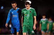 9 August 2018; Garry Buckley, right, and Mark McNulty of Cork City following the UEFA Europa League Third Qualifying Round 1st Leg match between Cork City and Rosenborg at Turners Cross in Cork. Photo by Stephen McCarthy/Sportsfile