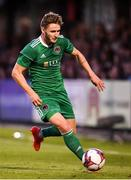 9 August 2018; Kieran Sadlier of Cork City during the UEFA Europa League Third Qualifying Round 1st Leg match between Cork City and Rosenborg at Turners Cross in Cork. Photo by Stephen McCarthy/Sportsfile