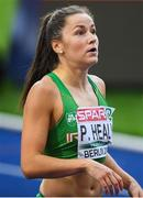 10 August 2018; Phil Healy of Ireland after competing in the Women's 200m Semi-Final during Day 4 of the 2018 European Athletics Championships at The Olympic Stadium in Berlin, Germany. Photo by Sam Barnes/Sportsfile