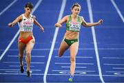10 August 2018; Phil Healy, right, of Ireland and Anna Kielbasinska of Poland competing in the Women's 200m Semi-Final during Day 4 of the 2018 European Athletics Championships at The Olympic Stadium in Berlin, Germany. Photo by Sam Barnes/Sportsfile