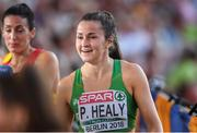 10 August 2018; Phil Healy of Ireland, after competing in the Women's 200m Semi-Final during Day 4 of the 2018 European Athletics Championships at The Olympic Stadium in Berlin, Germany. Photo by Sam Barnes/Sportsfile