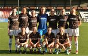 10 August 2018; The Wexford Youths team prior to the UEFA Women's Champions League Qualifier match between Wexford Youths and Thór/KA at Seaview in Belfast. Photo by Oliver McVeigh/Sportsfile