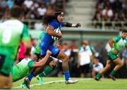 10 August 2018; Joe Tomane of Leinster is tackled by Jordan Rochier of Montauban during the Pre-Season Friendly match between Montauban and Leinster at Stade Sapiac, in Montauban, France. Photo by Manuel Blondeau/Sportsfile