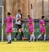 10 August 2018; Daniel Kelly of Bohemians celebrates after scoring his side's third goal during the Irish Daily Mail FAI Cup First Round match between Wexford and Bohemians at Ferrycarrig Park, in Wexford. Photo by Tom Beary/Sportsfile