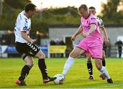 10 August 2018; AJ Lehane of Wexford in action against Derek Pender of Bohemians during the Irish Daily Mail FAI Cup First Round match between Wexford and Bohemians at Ferrycarrig Park, in Wexford. Photo by Tom Beary/Sportsfile
