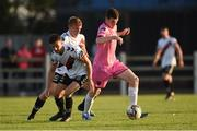 10 August 2018; Dean Kelly of Wexford in action against Keith Buckley of Bohemians during the Irish Daily Mail FAI Cup First Round match between Wexford and Bohemians at Ferrycarrig Park, in Wexford. Photo by Tom Beary/Sportsfile