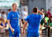 10 August 2018; Leinster head coach Leo Cullen during the Pre-Season Friendly match between Montauban and Leinster at Stade Sapiac, in Montauban, France. Photo by Manuel Blondeau/Sportsfile