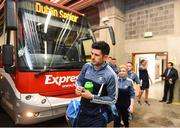 11 August 2018; Cian O'Sullivan of Dublin arrives prior to the GAA Football All-Ireland Senior Championship semi-final match between Dublin and Galway at Croke Park in Dublin. Photo by Stephen McCarthy/Sportsfile