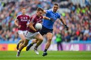 11 August 2018; Eoghan Kerin of Galway in action against James McCarthy of Dublin during the GAA Football All-Ireland Senior Championship semi-final match between Dublin and Galway at Croke Park in Dublin. Photo by Brendan Moran/Sportsfile