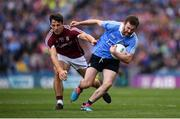 11 August 2018; Jack McCaffrey of Dublin in action against Seán Armstrong of Galway during the GAA Football All-Ireland Senior Championship semi-final match between Dublin and Galway at Croke Park in Dublin. Photo by Stephen McCarthy/Sportsfile