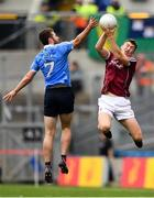 11 August 2018; Johnny Heaney of Galway in action against Jack McCaffrey of Dublin during the GAA Football All-Ireland Senior Championship semi-final match between Dublin and Galway at Croke Park in Dublin.  Photo by Seb Daly/Sportsfile