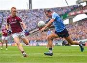 11 August 2018; Cormac Costello of Dublin in action against Declan Kyne of Galway during the GAA Football All-Ireland Senior Championship semi-final match between Dublin and Galway at Croke Park in Dublin.  Photo by Seb Daly/Sportsfile