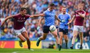 11 August 2018; Brian Howard of Dublin in action against Micheal Daly of Galway during the GAA Football All-Ireland Senior Championship semi-final match between Dublin and Galway at Croke Park in Dublin.  Photo by Brendan Moran/Sportsfile