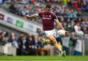 11 August 2018; Damien Comer of Galway during the GAA Football All-Ireland Senior Championship semi-final match between Dublin and Galway at Croke Park in Dublin.  Photo by Piaras Ó Mídheach/Sportsfile
