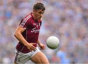 11 August 2018; Shane Walsh of Galway during the GAA Football All-Ireland Senior Championship semi-final match between Dublin and Galway at Croke Park in Dublin.  Photo by Brendan Moran/Sportsfile