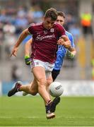 11 August 2018; Shane Walsh of Galway in action against John Small of Dublin during the GAA Football All-Ireland Senior Championship semi-final match between Dublin and Galway at Croke Park in Dublin.  Photo by Brendan Moran/Sportsfile