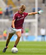 11 August 2018; Ryan Monahan of Galway during the Electric Ireland GAA Football All-Ireland Minor Championship semi-final match between Galway and Meath at Croke Park in Dublin. Photo by Brendan Moran/Sportsfile